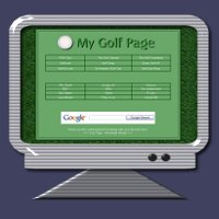 Click Here - Golf Theme